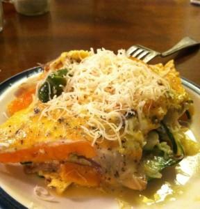 Veggie Frittata Plate